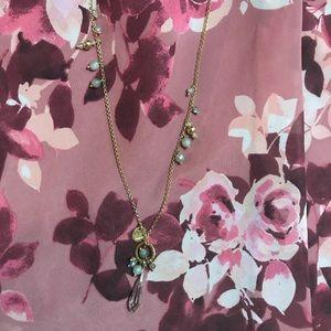 Elegant Grey Necklace